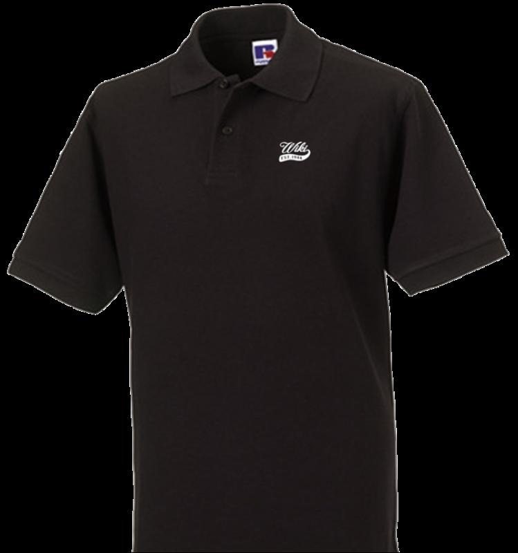 Polo Shirt schwarz